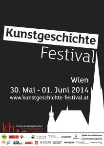 Kunstgeschichte-Festival Plakat