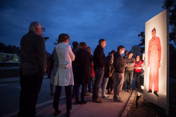 Moosburg - Eröffnung der Körperscans des Fotografen K. Hörbst  © Alexandra Grill 2013
