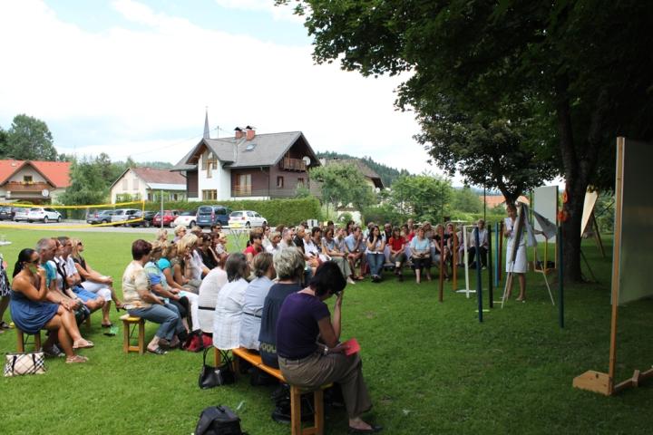 workshop im grünen © landinger